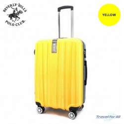 """Beverly Hills Polo Club ABS Luggage Size 24"""" sold by TRAVEL FOR ALL"""