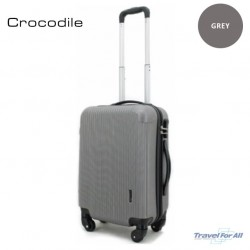 """Crocodile ABS Luggage Cabin 20"""" Size sold by TRAVEL FOR ALL"""