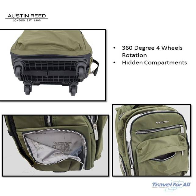 Austin Reed Wheeled Laptop Backpack 16 Sold By Travel For All