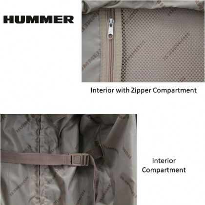 HUMMER Soft Luggage 3 Colours Cabin Size 19""