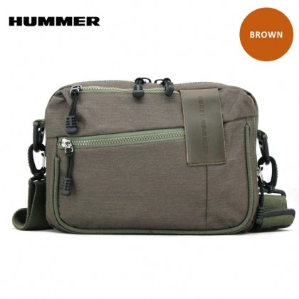 HUMMER Horizontal Sling Bag 3 Colors