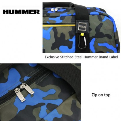 HUMMER 50CM Hand Carry Camouflage Duffle Bag