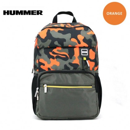 HUMMER Camouflage 44CM Backpack (Assorted colour)
