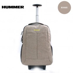 """HUMMER 18"""" Trolley Backpack 2 Colors"""
