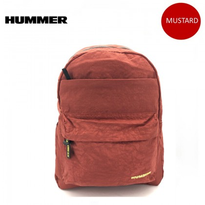 HUMMER 44CM Casual Backpack With Front Pocket 4 Color
