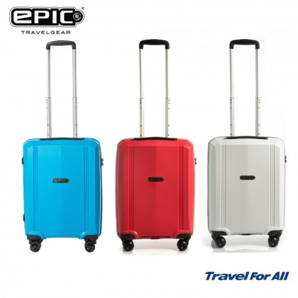 EPIC 55cm Airwave VTT Hard Case Cabin Luggage