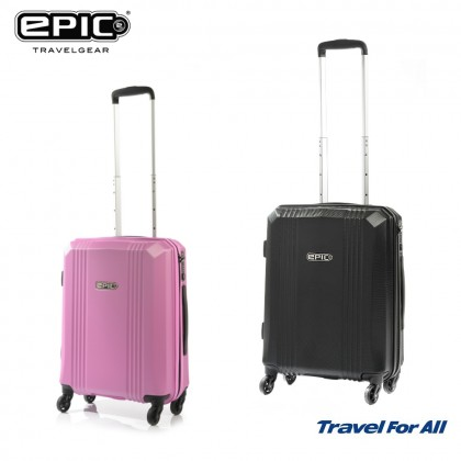 EPIC 55cm Airware Waterproof Polycarbonate Hard Case Cabin Luggage