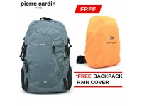 PIERRE CARDIN 30L Travel Backpack (With Backpack Rain Cover, 3 colors available)