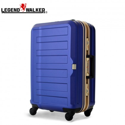 Legend Walker Cabin Size 55cm Hard Case Luggage (Navy Blue)