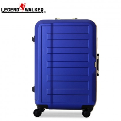 Legend Walker Medium Size 60cm Hard Case Luggage (Navy Blue)