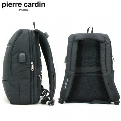PIERRE CARDIN 41cm Laptop Backpack (USB Port) With 2 Colors