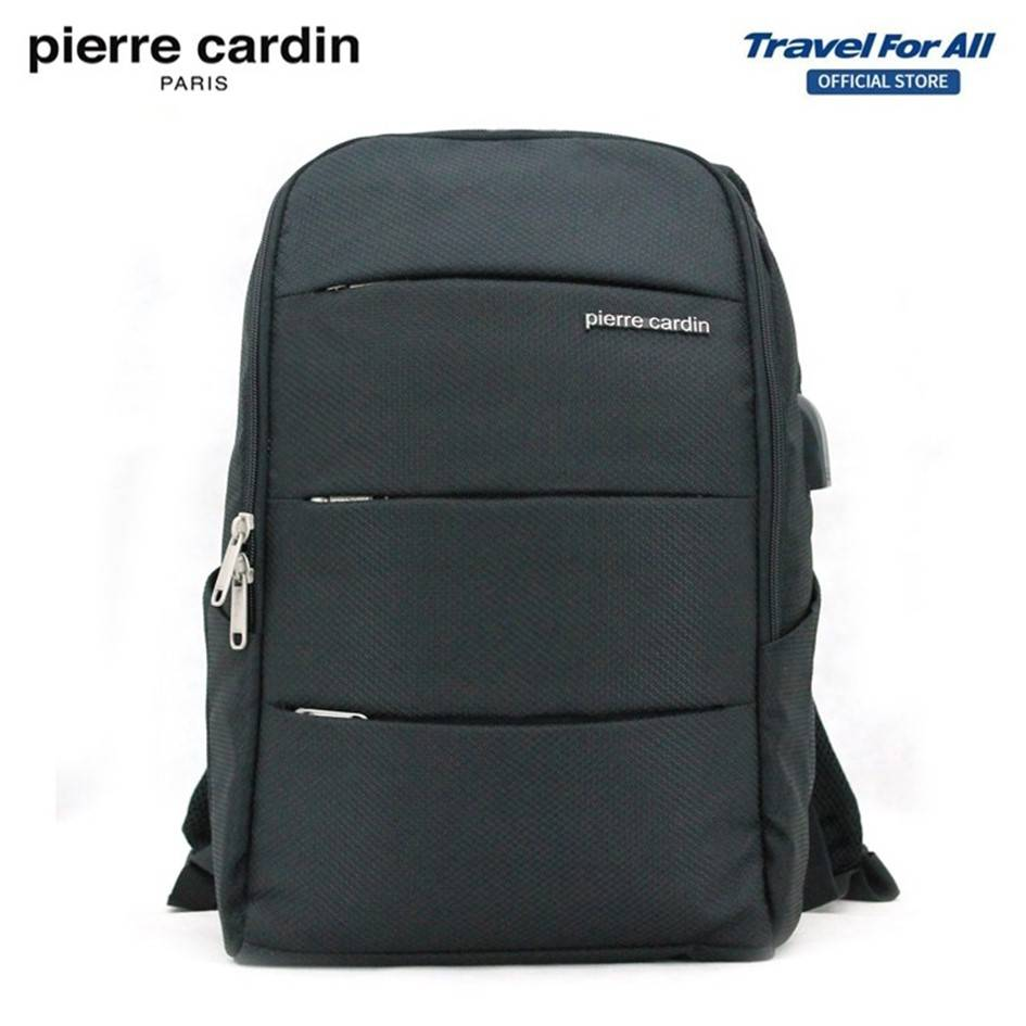 PIERRE CARDIN 48cm Laptop Backpack (USB Port) With 2 Colors