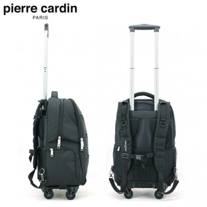 PIERRE CARDIN 46cm Trolley Laptop Backpack (USB Port) With 2 Colors