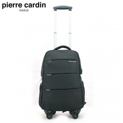 PIERRE CARDIN 54cm Trolley Laptop Backpack (USB Port) With 2 Colors