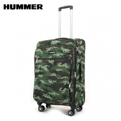 HUMMER Camouflage 24 Inch Medium Soft Luggage (2 Colors)