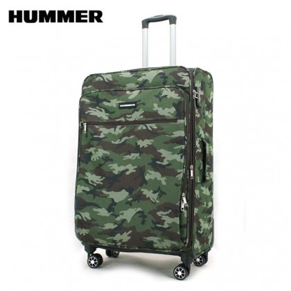 HUMMER Camouflage 28 Inch Large Soft Luggage (2 Colors)