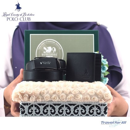 Set Hantaran RCB POLO (Wallet & 4CM Auto Belt)