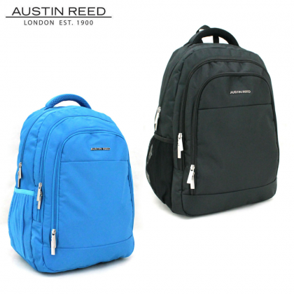 """Austin Reed Luggage ABS Large 28"""" (Grey/Silver) with FREE 19"""" Laptop Backpack"""