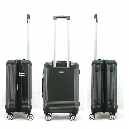 """Austin Reed Luggage ABS Large 28"""" (Grey/Silver)"""
