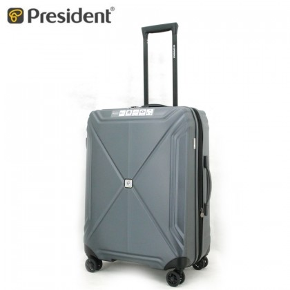 "President Luggage Hexa SPC 26"" Grey"