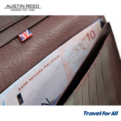 Austin Reed Leather Long Wallet