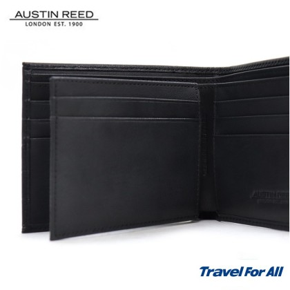 Austin Reed Leather Black Wallet