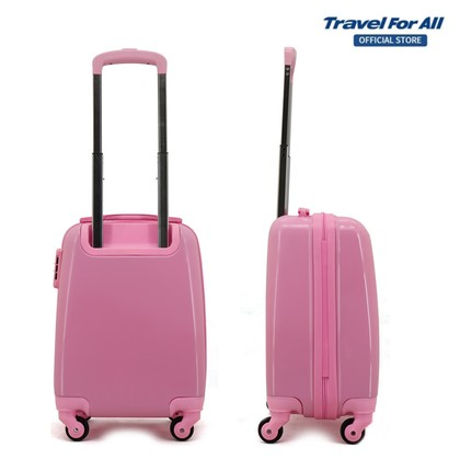 Cartoon 16 Inch Travel Lightweight Hardshell Kids and Children Suitcase (Free Luggage Tag)