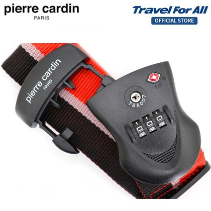 PIERRE CARDIN TSA Luggage Strap (3 Colours Available)