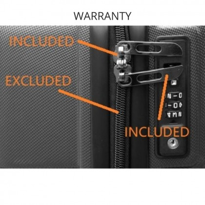 """FLYASIA Hard Case Luggage Cabin Size 20"""" (2 colours available)"""
