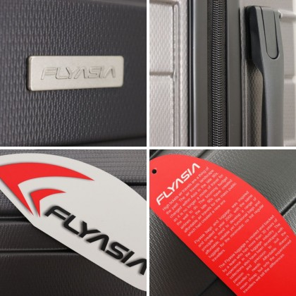 "FLYASIA Hard Case Luggage Combo Set (Size 20+24+28"") (3 colours available)"