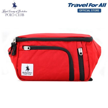 RCB POLO CLUB MULTIPURPOSE NYLON 20CM WAIST BAG (3 Colors)