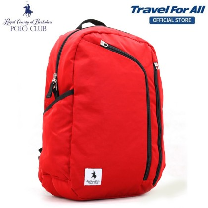 RCB POLO CLUB 48CM 5-COMPARTMENT CASUAL BACKPACK (3 Colors)