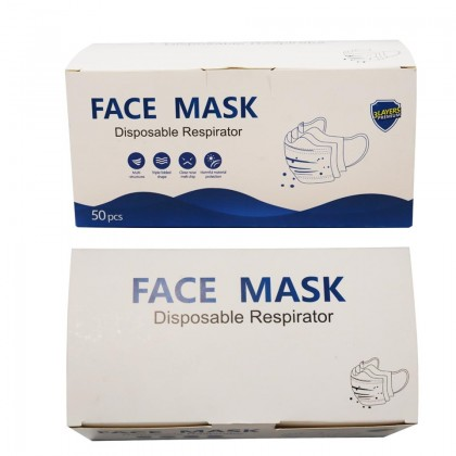[Ready Stock] 50 pcs Disposable 3 Layers Premium Face Mask
