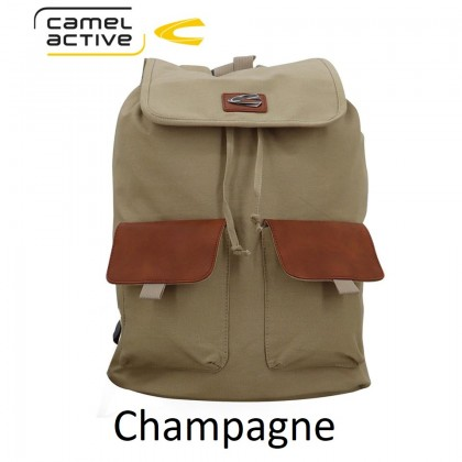 Camel Active 18 inch Adventure Canvas Backpack