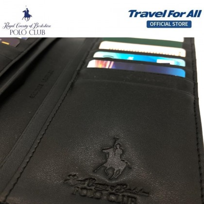 RCB Polo Club Men's Leather Long Wallet (15320410)