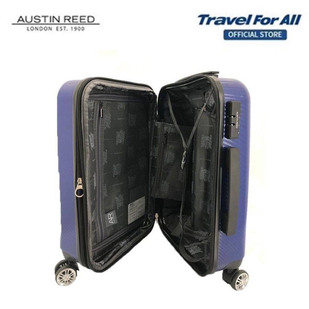 Austin Reed 20 Inch Abs Pc Zipper Trolley Case 2 Colors