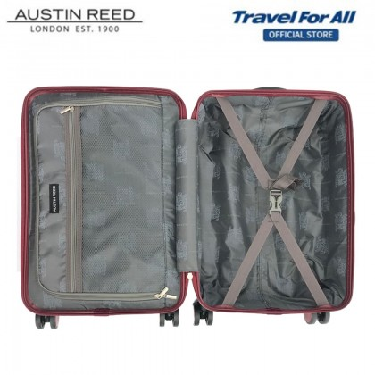 Austin Reed 5-in-1 Combo Set With 20 inch + 24 inch Luggage + 3 pcs Free Gift (Dark Grey)