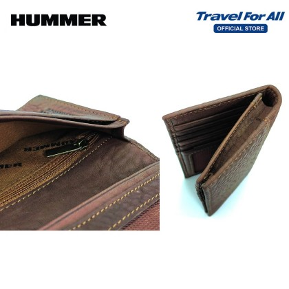 HUMMER LEATHER LONG WALLET (2 COLORS)