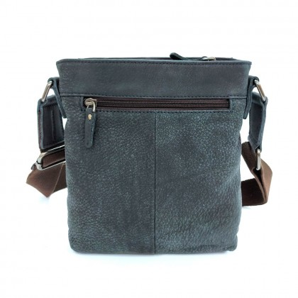 HUMMER LE SLING BAG (BLACK/DARK BLUE)